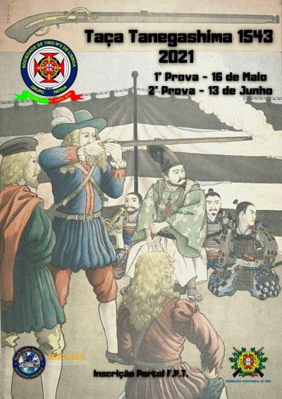 Taça Tanegashima 1543 2021 Versão 3