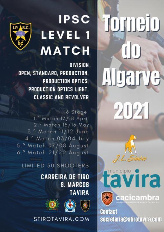 Torneio do Algarve IPSC 2021
